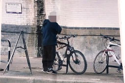 Mystery Photo Left for Stamford Brook Bike Theft Victim