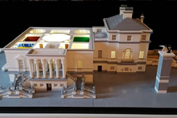 Chiswick House Lego Model Goes on Display