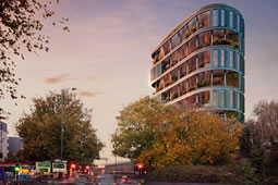 New Proposal for Tower Block By Chiswick Roundabout