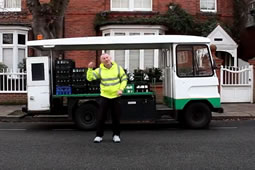 Alan, The Nicest Milkman in the West, Signs Off With a Song