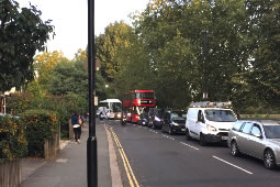 Angry Scenes as Chiswick Hit By Gridlock