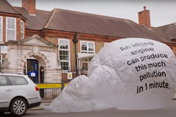 Anti-idling Campaign Launched in the Borough