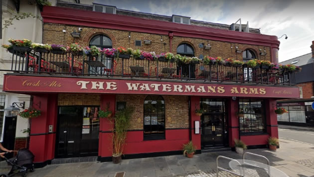 The Waterman's Arms in Barnes