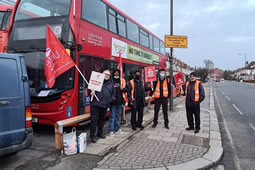 Four More Days of Strikes Planned By Bus Drivers